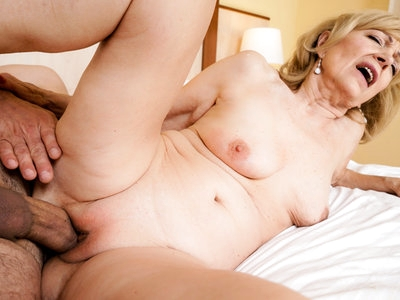 Slutty granny Szuzanne moist pussy wants to be fucked.