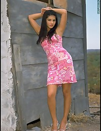 Sunny Leone in Bare on Hilltop at FOXES.com
