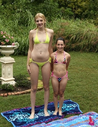 Tall and Small featuring Freya Von Doom & Lena Anderson by Als Photographer