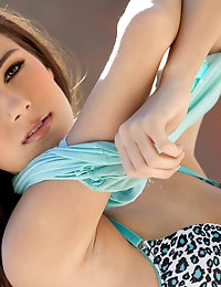 Young Madison's fit body shows incredible natural features, she is one stunning Babe your really don't want to miss.