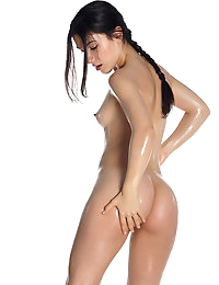 """Lovely, lusty Luna is wet and wild playing amongst her water balloons. You may remember this sexy beauty from the series """"The Writer"""""""