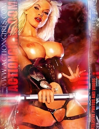 Exclusive Actiongirls 2012 Web Posters Deluxe Series 3  Photos Actiongirls.com