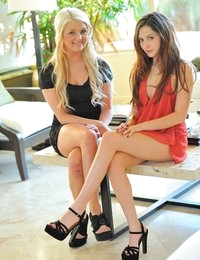 Cassie and Chloe lesbian fun