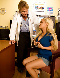 Crista Moore has something for her doctor to check out and Anthony Hardwood is all about pleasing his patient.
