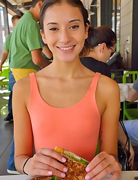 "Hi! My name is Roxanna. I like to do outdoor things such as canoeing, hiking, fishing, snowboarding, skiing, and camping. I really like animals. My favorite types of animals are cats and dogs, espically fluffy ones. I like excersizing. When I excersize I dance, run, swim, use weights in the gym, and hoop. My favorite type of excersize is yoga. I started doing hot yoga a few weeks ago, and I love how it has positively impacted my mind, body, and soul. Hot yoga is in a 95 degree temperature room, so as soon as you get in there you sweat a lot. When I was in high school I was in volleyball, track, and cheerleading. I play piano, and I have been playing for 5 years now. I really appreciate classical piano pieces such as ""Moonlight Sonata, and ""Fur Elise"" which were both composed by Bethoveen. I cant read notes, I just listen to a song and play it. My mother played the violin and my father played the guitar. I have a respect for all types of music excpet for modern day rap, I dont like the lyrics. Where is the real rap nowadays? I love reading, and I like watching documentries because I learn a lot from them. I am a super huge health nut and being healthy is a very important thing for me. I usually eat either spanish omelets in the morning, or oatmeal with blueberries. For lunch I like to eat spniach and kale salad with salmon. For dinner I usually eat grilled chicken, steamed vegetables, and brown rice. My favorite foods are sushi salads, and pizza. I just recently added chia seeds and flaxseed into my diet. I currently go to school and I would like to work in the medical field as a medical assistant, and then a nurse. The classes I am currently taking are sociology, college writting, and Algebra. My favorite class is sociology. I have learned many things from that class in a very short amount of time. One of the things I have learned about is Capitalism. Its crazy how us humans are born into this ""iron cage,"" and we are forced to work, and if we dont go to school we could have a hard time making money for a decent living. I like to go shopping with girlfriends. We like to go to the mall, and our favorite stores are Victorias secret, forever 21, Hollister, Abercrombie and Fitch, Nike, Sephora, Windsor, Zumiez, and many other stores."